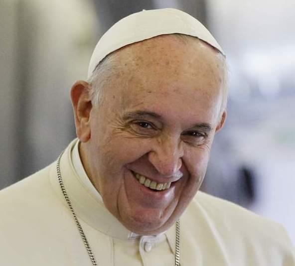Imagen del Papa web